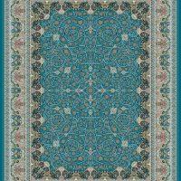 فرش گل برجسته ۱۲۰۰ شانه کد ۳۰۰۱ زمینه کاربنی
