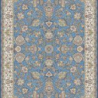 فرش گل برجسته ۱۲۰۰ شانه کد ۳۰۰۹ زمینه کاربنی