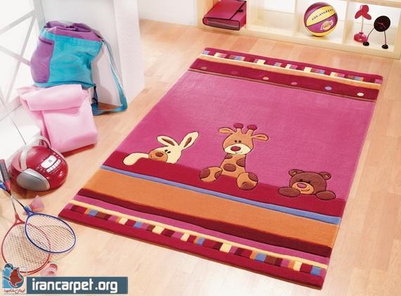 انتخاب فرش مناسب برای دکوراسیون اتاق کودک