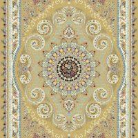 فرش ۱۲۰۰ شانه نقشه ترانه زمینه بادامی