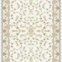 فرش ۱۲۰۰ شانه کرم نقشه پرنسس