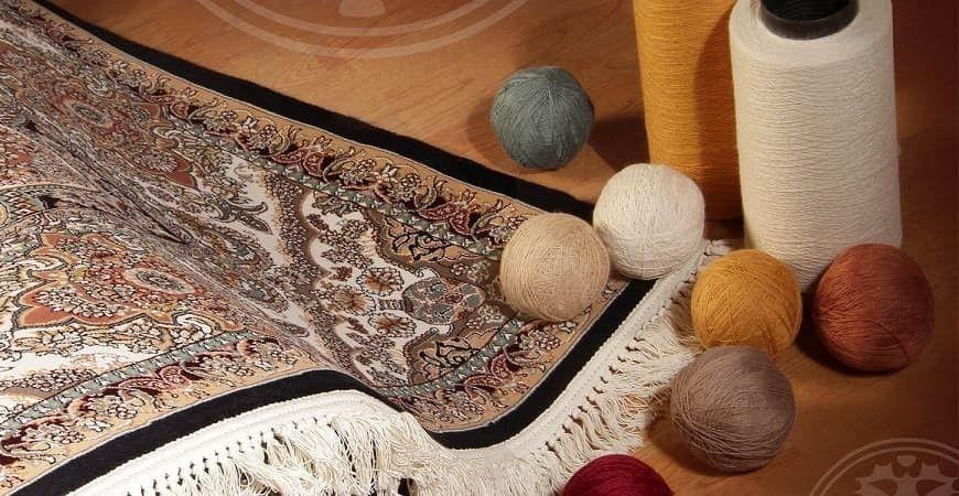 مرحله کنترل کیفیت فرش خام و رفوگری
