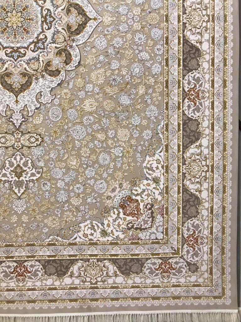 فرش 1200 شانه گل برجسته نقشه درسا زمینه فیلی