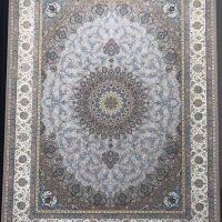 فرش 1200 شانه لایت نقشه اصفهان زمینه نقره ای