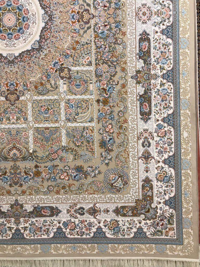 فرش 1200 شانه گل برجسته نقشه خانه رویایی زمینه فیلی
