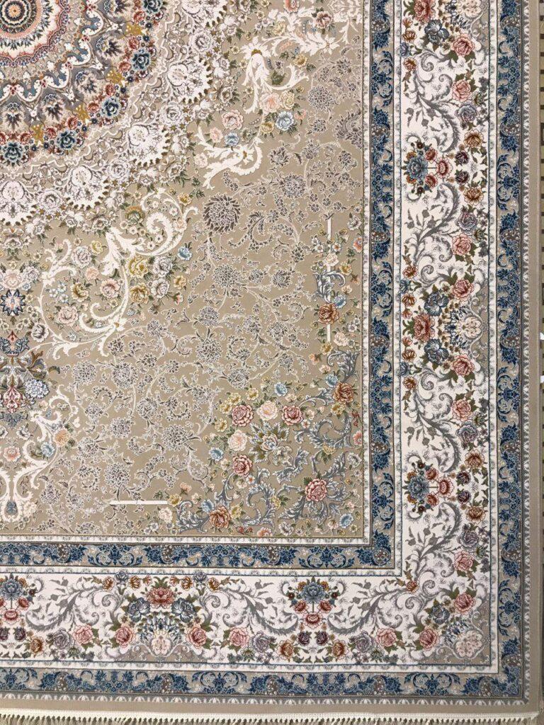 فرش 1200 شانه گل برجسته نقشه رایحه زمینه فیلی