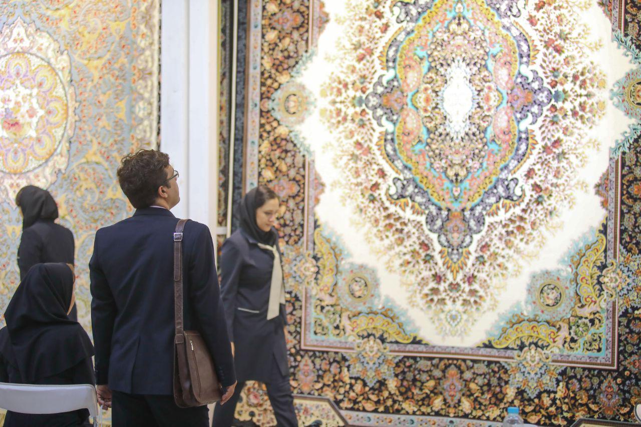 Image result for نمایشگاه ملی فرش ماشینی در کاشان