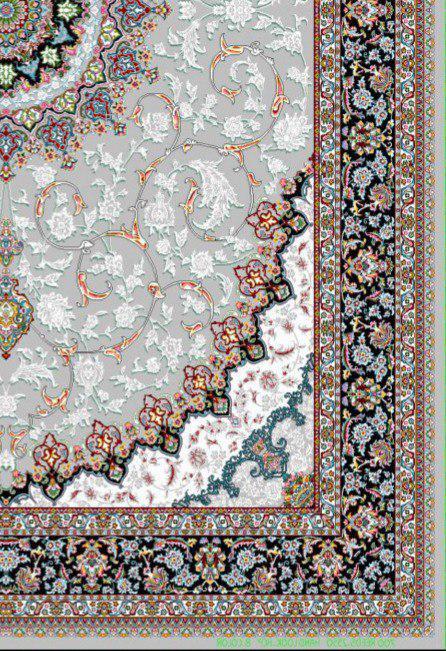 فرش 700 شانه نقشه اصفهان زمینه فیلی