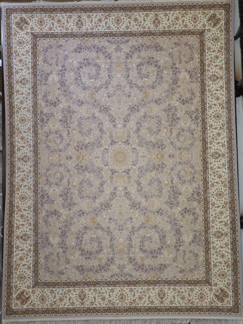 فرش ماهرو زمینه نقره ای