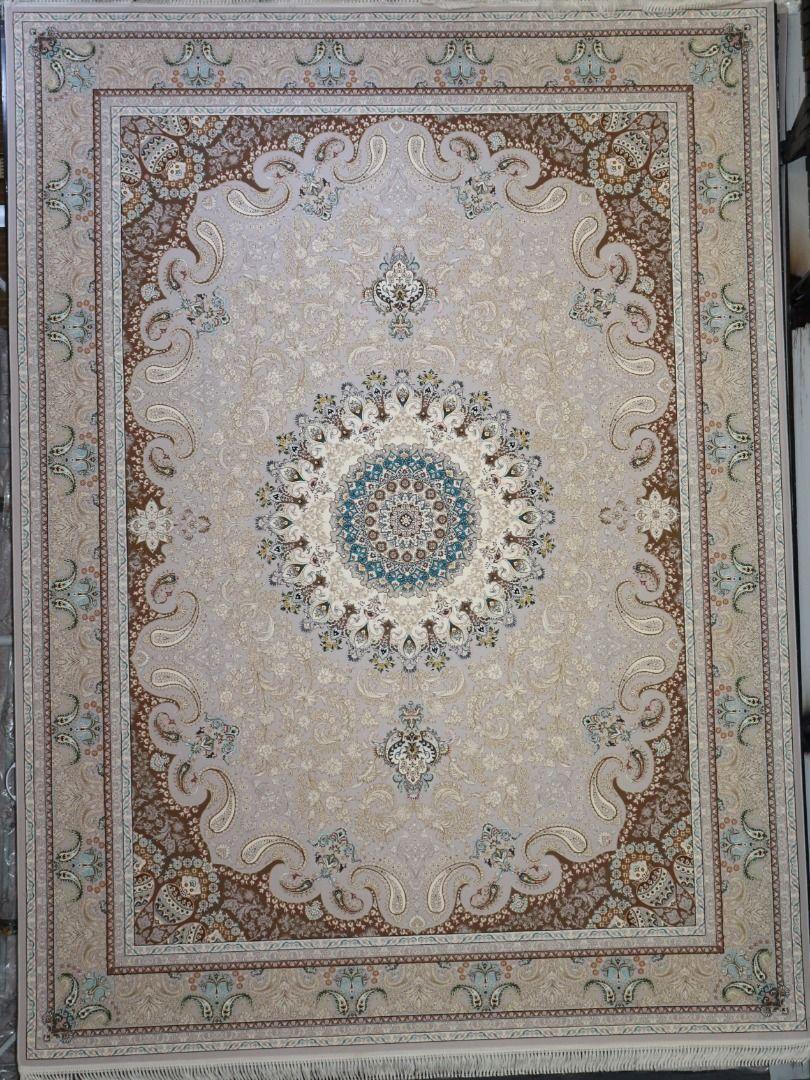 فرش نهال زمینه نقره ای