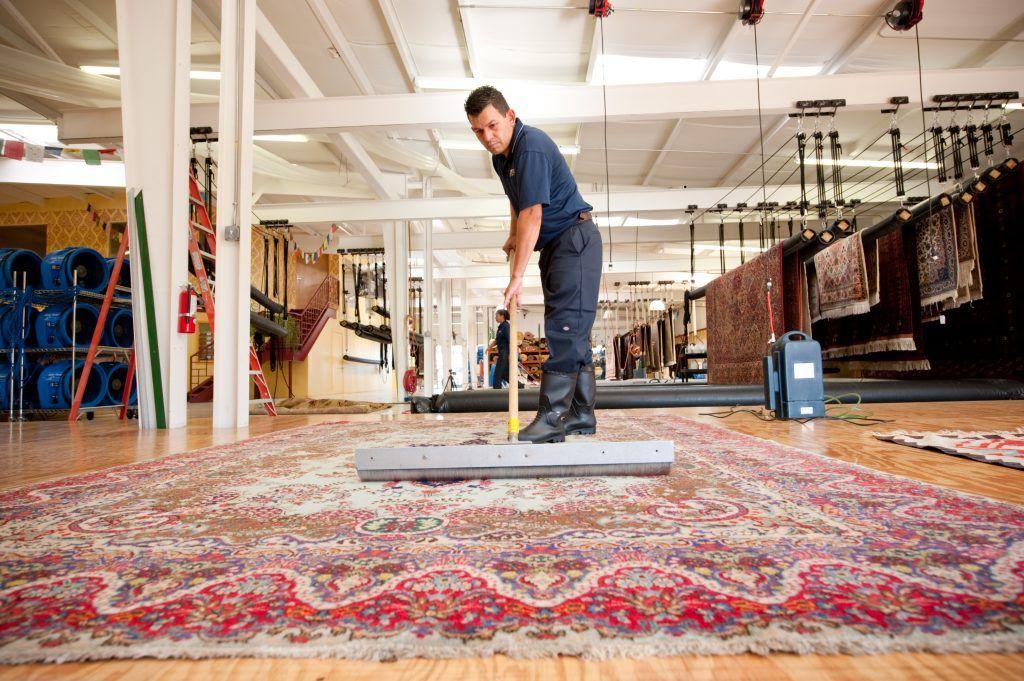 شستن فرش در قالیشویی