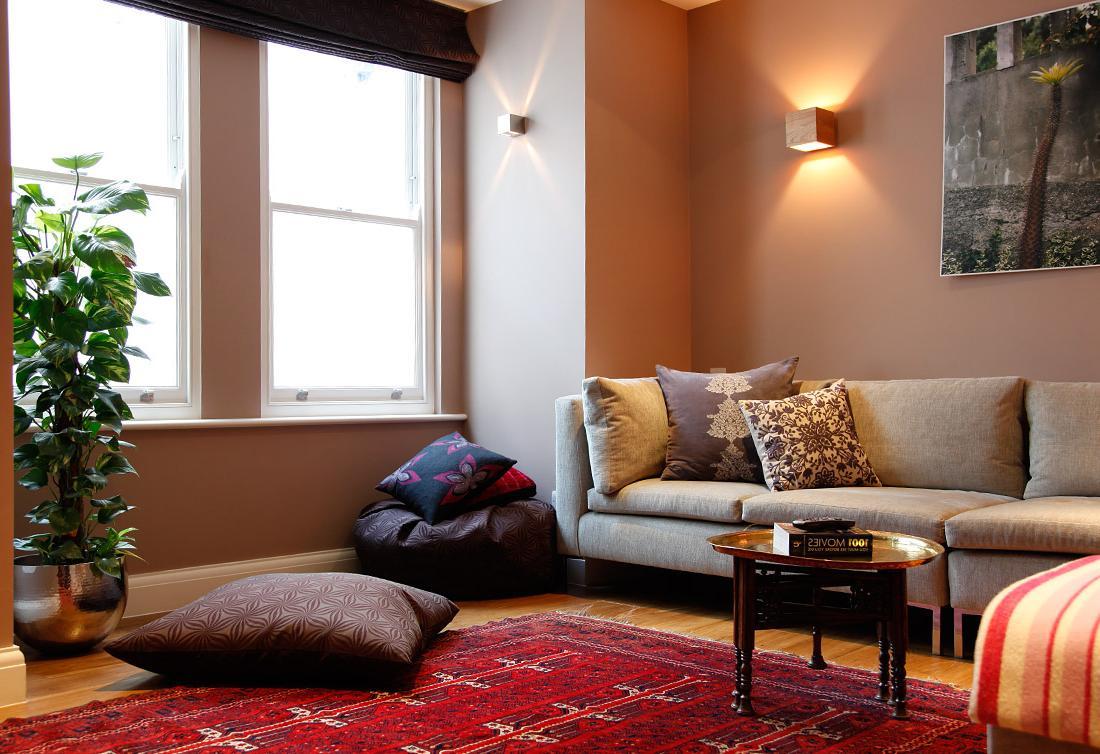 red carpet in room