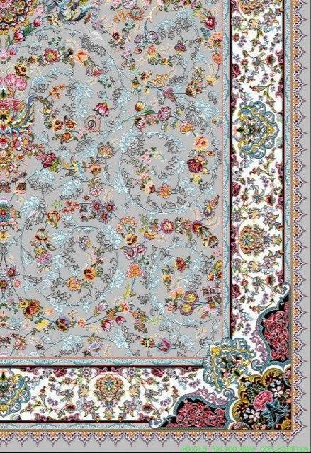 فرش 700 شانه نقشه پرنسس زمینه فیلی