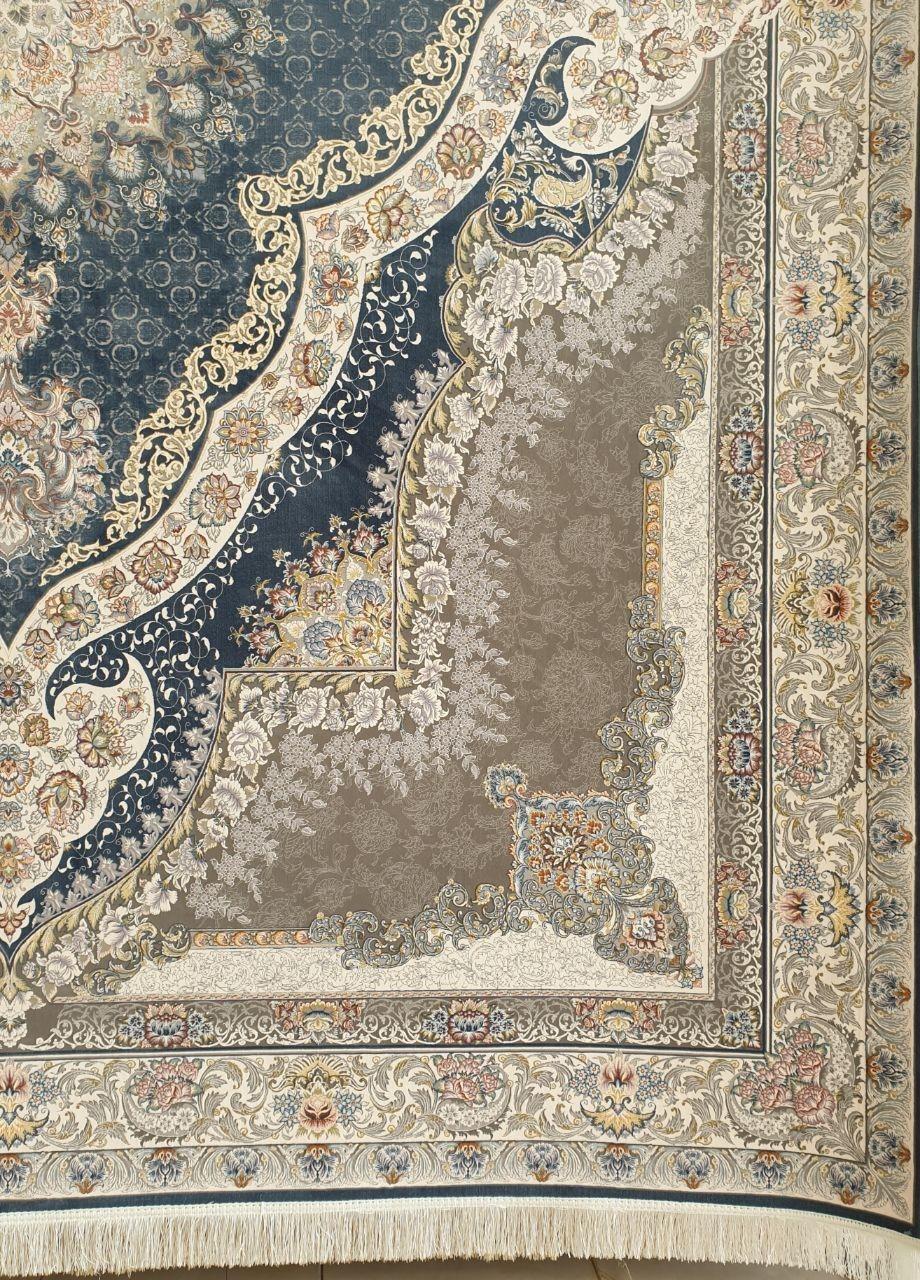 فرش 1200 شانه گل برجسته نقشه رستا زمینه اطلسی