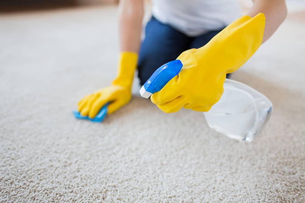 چطور فرش رو تمیز کنیم ؟