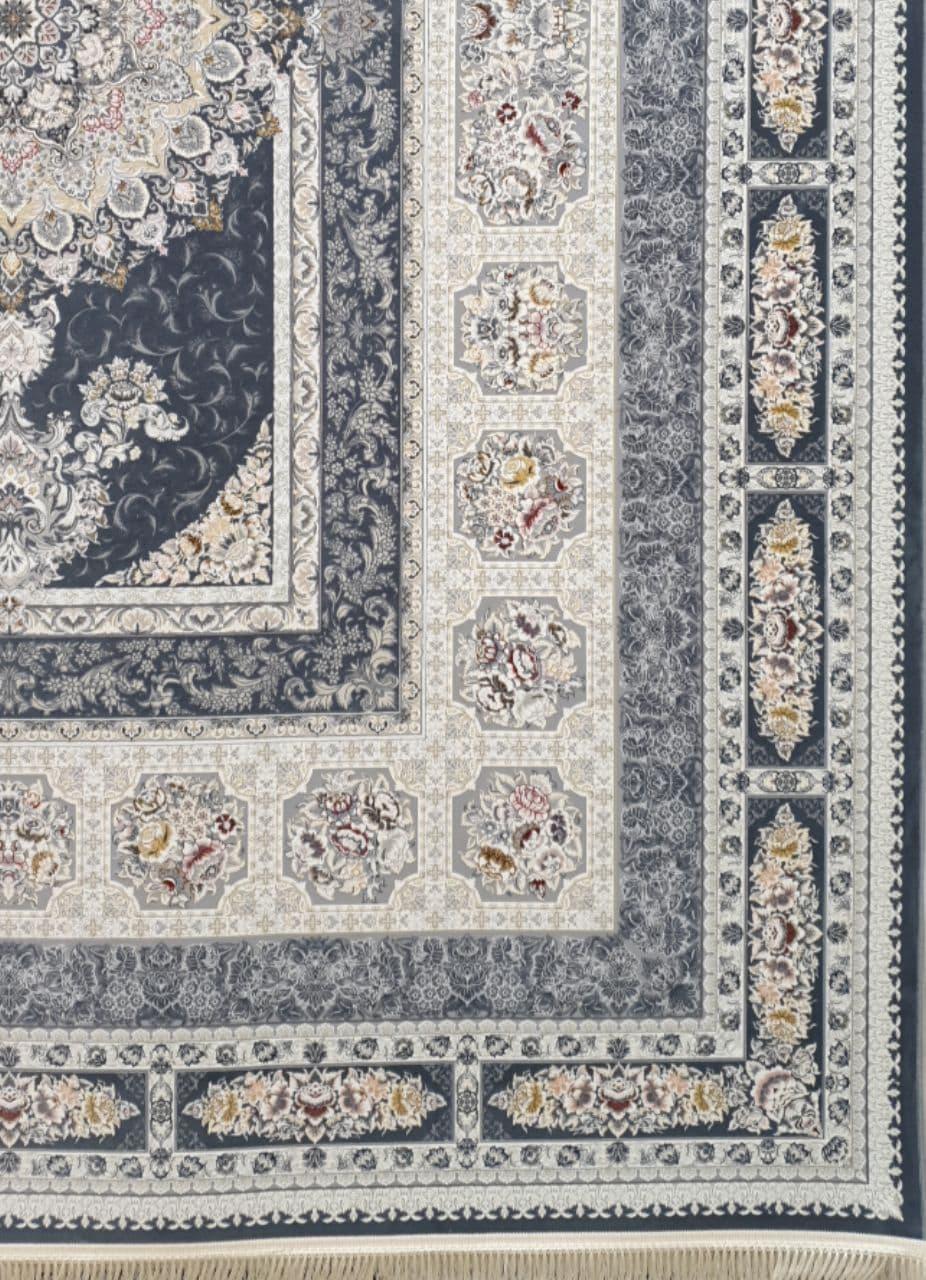 فرش 1200 شانه برجسته نقشه اخگر زمینه متالیک