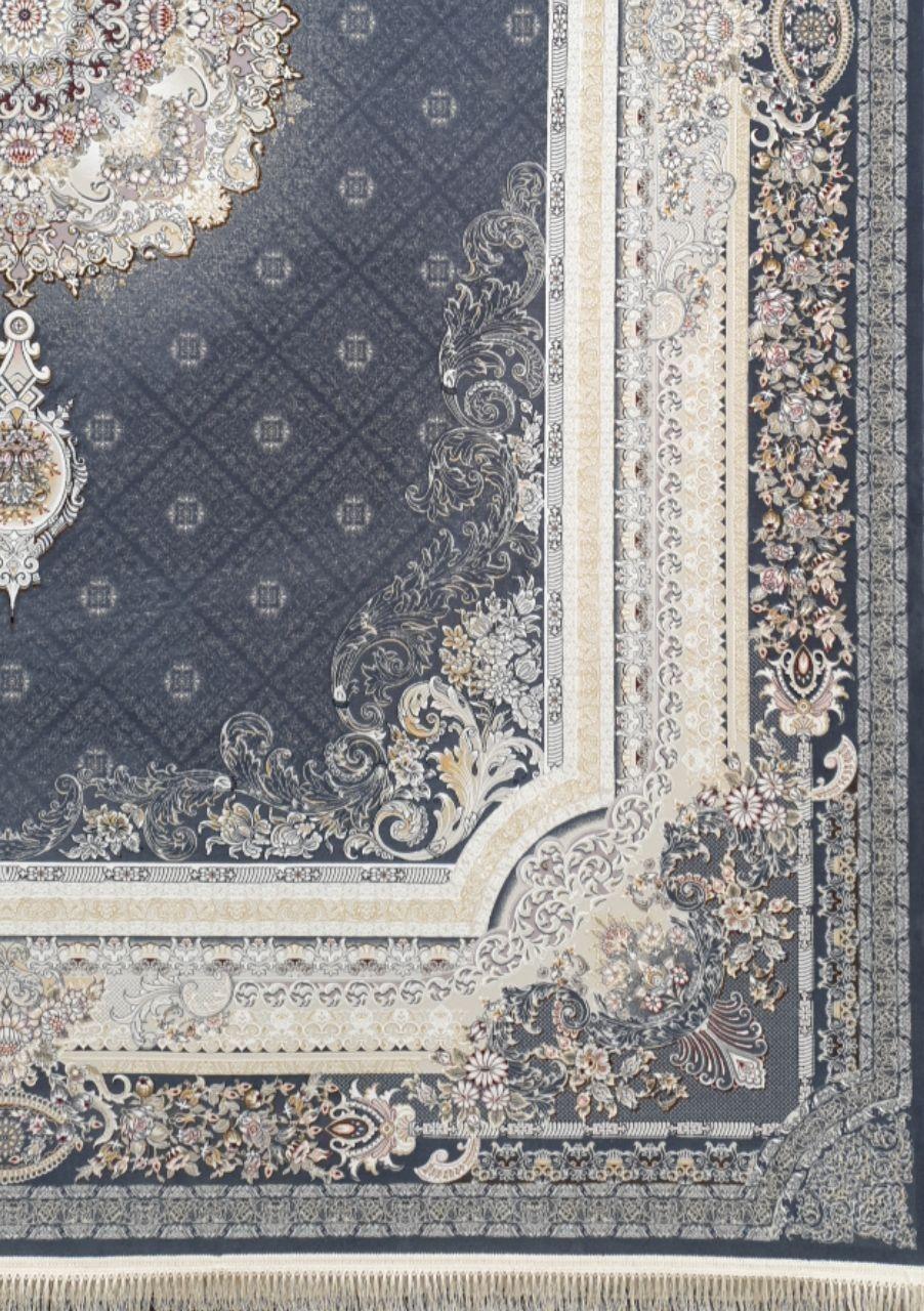 فرش 1200 شانه برجسته نقشه تیمچه زمینه متالیک