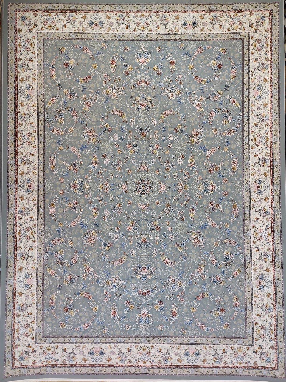 فرش 1500 شانه گل برجسته نقشه شاهکار زمینه فیلی